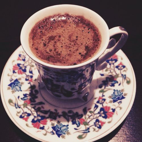 Turkish coffee ☕️ Hello World Relaxing Coffee Time Turkishcoffee Firsteyeemphoto Hi! Istanbuldayasam