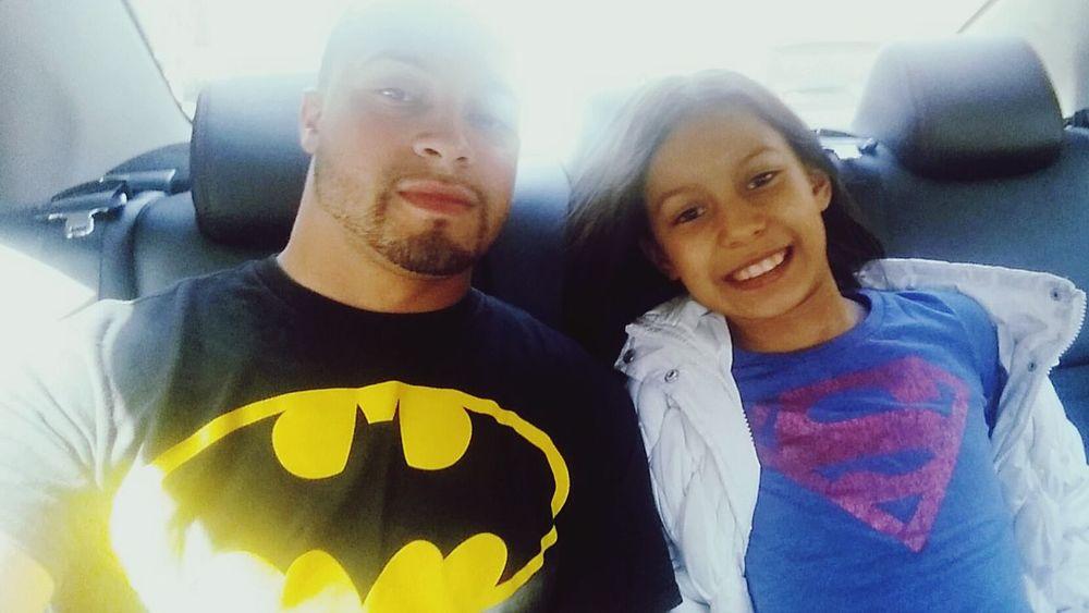 Batman Superman Batmanvssuperman Daddy Daughter Daddydaughtertime Daddydaughterdate Daddydaughterbond Daddyslittlegirl Ilovemydaughter Ustime Brooklyn Movies