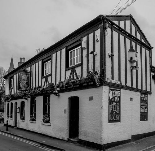 The Merchant's Inn, Little Church Street, Rugby, Warwickshire Architecture FUJIFILM X-T10 Monochrome Black And White Warwickshire Rugbytown Rugby Rugby Pubs Pubs