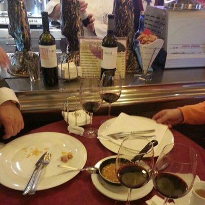 De vinos y tapas... con @verumbodegas