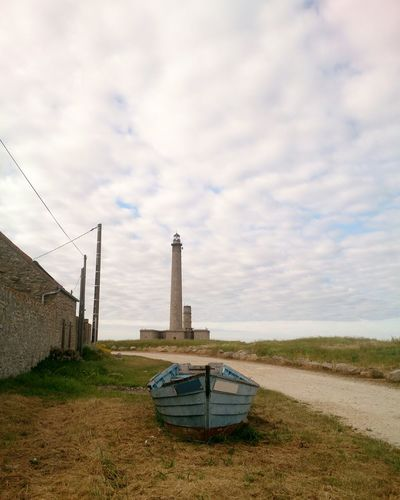 Cloud - Sky Outdoors Lighthouse Boat Landscape Normandie Gatteville-le-Phare EyeEmNewHere