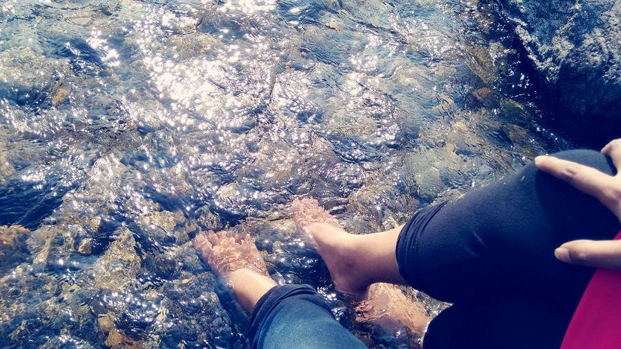 Everyday Joy .. Lyk ocean kisses da coastline.. Relaxing .. Enjoying Life .. Luv ew swtiee.. :-*.. V2..