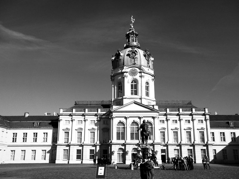 Architecture City Life History Famous Place Tourism Berlin Photography Schloss Charlottenburg Berlin Black And White Berlin Black And White Photography Black And White Collection  Fresh On Eyeem  Eyeemphotography EyeEm Gallery