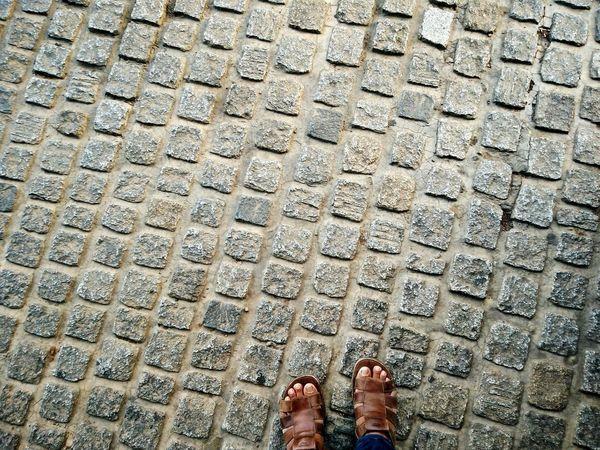 Showcase April Foot Direction Standing Still Floor Rock Floor