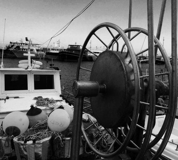 EyeEm Best Shots - Black + White Black And White Eye4photography  EyeEmBestPics Rule Of Thirds Boats Monochrome Taking Photos Sea EyeEm Best Shots