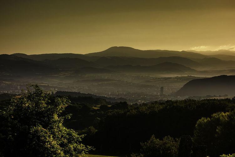 landscape Beauty In Nature Idyllic Landscape Morning Mountain Mountain Range Nature Outdoors Slovakia Sunrise Tranquility