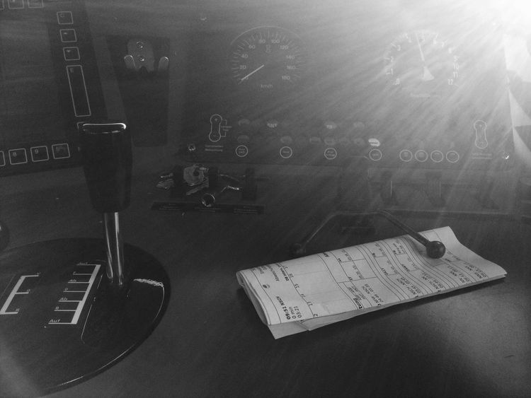 Bahn Workspace Black & White Darkness And Light No Filter Iponeography