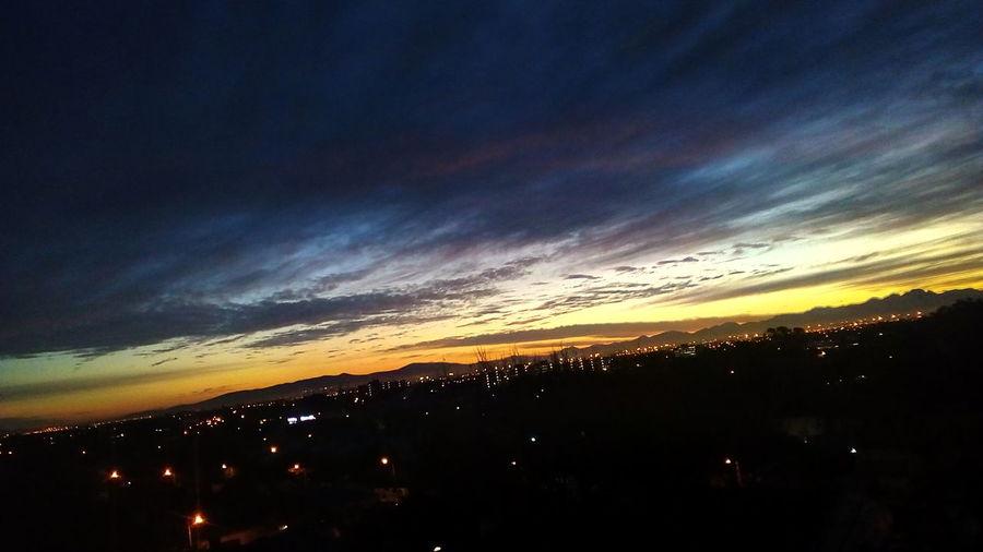 Sunrise Silhouette Sky Dramatic Sky Moody Sky Silhouette Cloudscape Atmospheric Mood