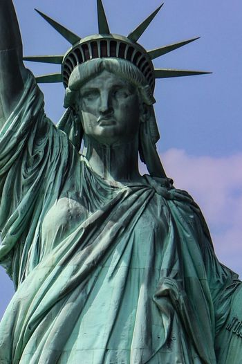 Statue Of Liberty Sculpture Statue Travel Destinations Tourism Freedom Travel The Past History New York