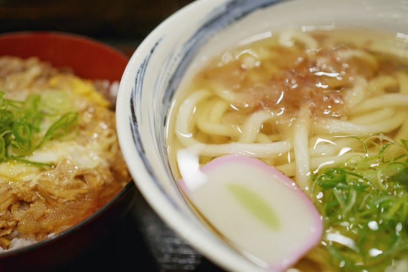 Cold outside hot udon/うどんで温まりました It's Cold Outside Udon Noodles Snapshots Of Life Cold Winter ❄⛄ LUMIX DMC-GM5K