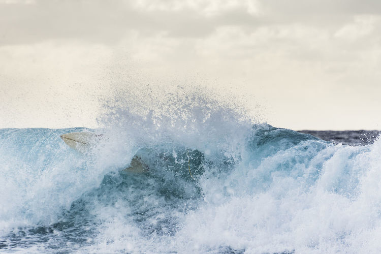 was and were Sea Water Power In Nature Power Motion Wave Beauty In Nature Splashing No People Breaking Sport Aquatic Sport Day Hitting Crash Outdoors Surfboard Water Sport Extreme Sports