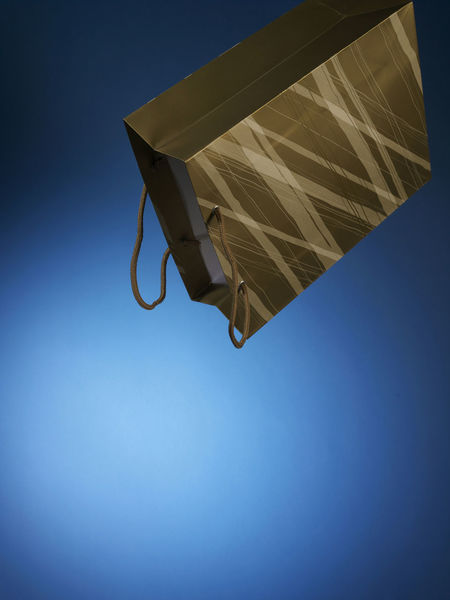 Free Time Holiday Season Icon Paper Bag Blue Close-up Consumerism Expenses Leisure Activity Low Angle View Luxury No People Shopping Bag Spending Symbol