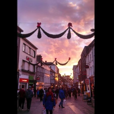 Strolling down shop street never gets old Christmascheer Galway Iloveireland