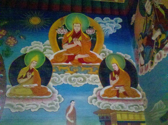 Buddhist Monastery Lord Buddha Manali ,Himachal Pradesh Calmness Peace And Tranquility