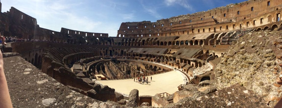 Colosseum Collosseum Italy Rome Architecture History Built Structure Arch Travel Destinations Tourism Ancient Travel Sky Old Ruin Outdoors Day
