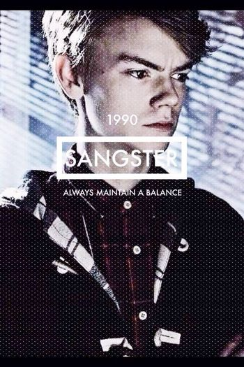 Thomas Sangster 1990 Perfect Boy TMR The Maze Runner