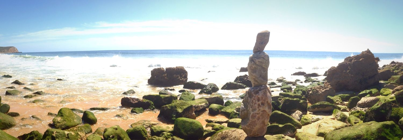 Sunny Day Djizle Beach High Chilling Rockstanding Lazy