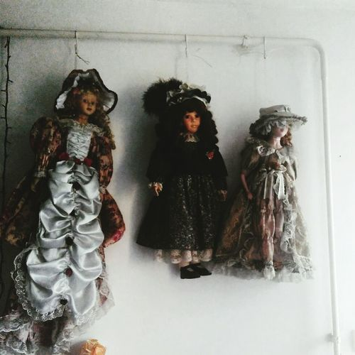 Indoors  Arts Culture And Entertainment People Day Dolls Horror Hanged