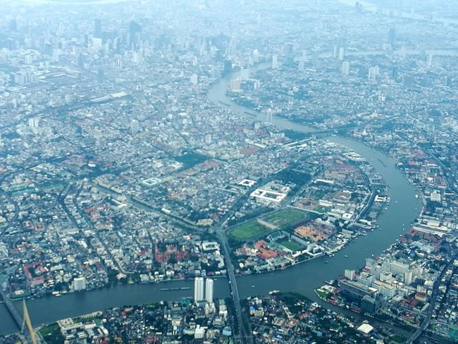 The Journey Is The Destination On The Way Bangkok Thailand. Flight ✈ Sky Jaopraya River WatPhraKaew My Way Hello World Jaow Praya River River View My World ♥ Love To Take Photos ❤ Love Is In The Air We Fly Smiles A Bird's Eye View Thailand Office Window Photo♡ Mook Flying High