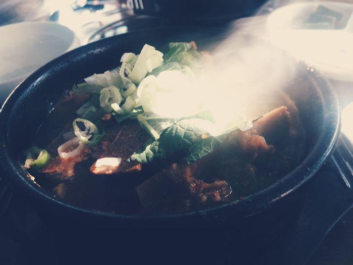 Spicy korean