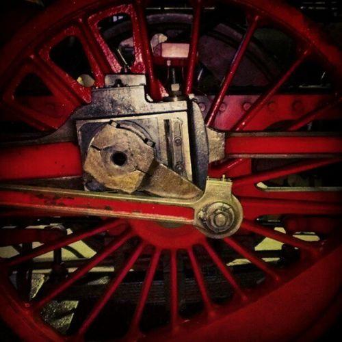 Dampflokomotivenrad!