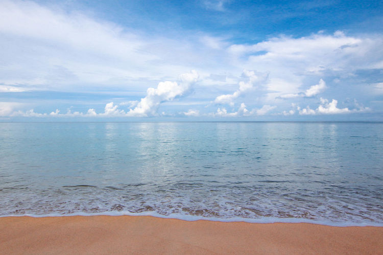 Thailand Beach Beauty In Nature Cloud - Sky Horizon Horizon Over Water Outdoors Power In Nature Scenics - Nature Sea And Sky Sky Surfing Water