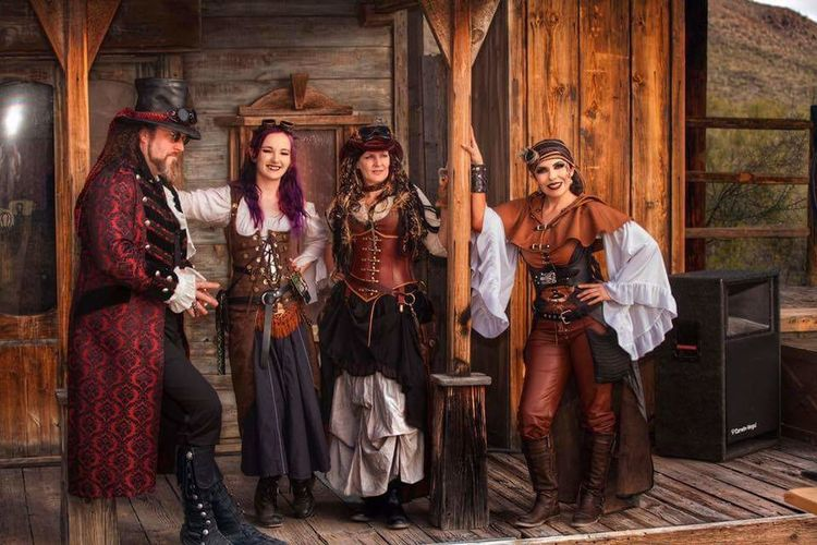 Steampunk Friends, WWWC6 2017. Hosted at Old Tucson Studios. Steampunk Photography Steampunk Style Steampunk Stuff OldTucson Arizona Tucson Steampunk Wildwest Photosbyraven Wildweststeampunkcon Steampunk Girl Steampunkphotoshoot Photography Leather Mystics