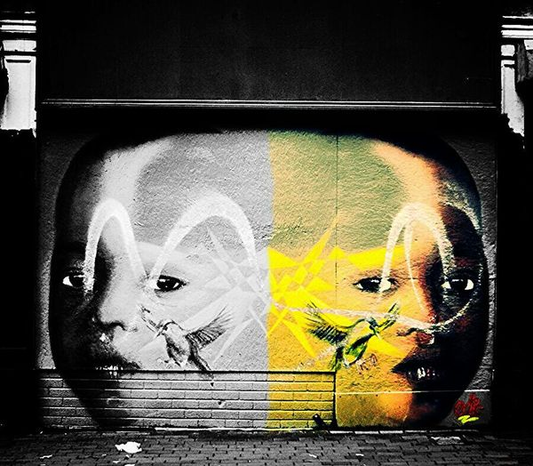 Mcgaffinphotography Somethingdifferent Street Art Graffiti Belfast BeCreative Belfaststreetart Colorsplash Streetphotography