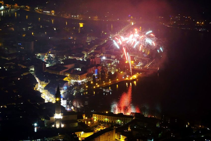 Fireworks Capodanno Lecco Night Celebration Firework Display Arts Culture And Entertainment Firework - Man Made Object Illuminated Outdoors