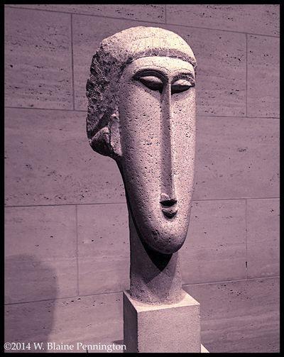Mondrian National Museum Of Art Sculpture