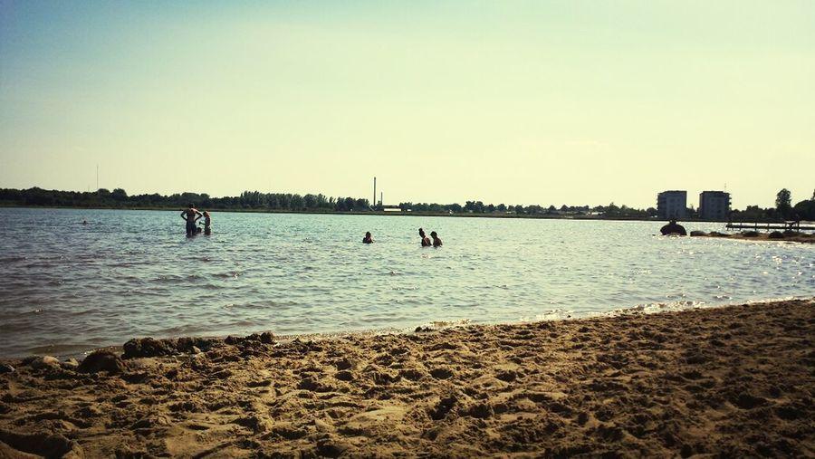 At the lake enjoying the sun ... Fuglsang