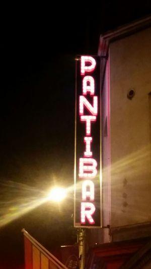 Pantibar Dublin, Ireland Caple Street Neon Sign