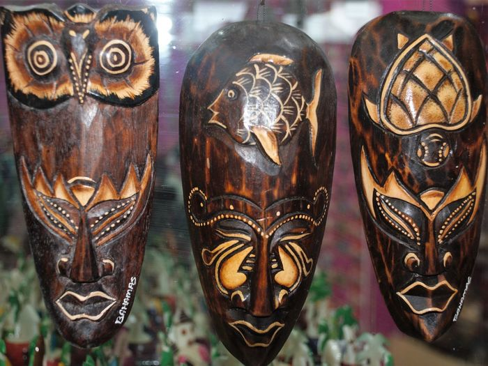 Guard the Nest masks Art And Craft Carving - Craft Product Craft Creativity Mask Mask - Disguise No People Ornate