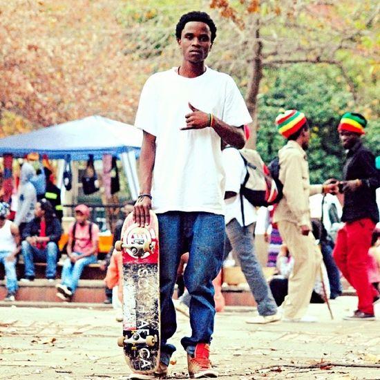 Skater. Skating Skateboard Redgoldgreen Irie park black people africa southafrica newage