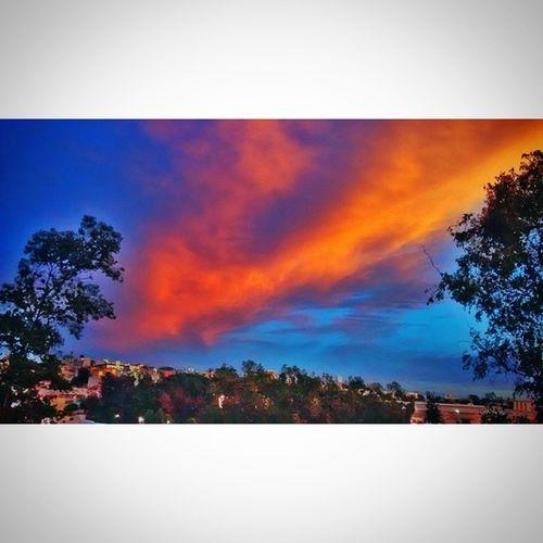 Logo de manhã você se depara com um céu deste... Bomdia Sunrise Sky Vanillasky