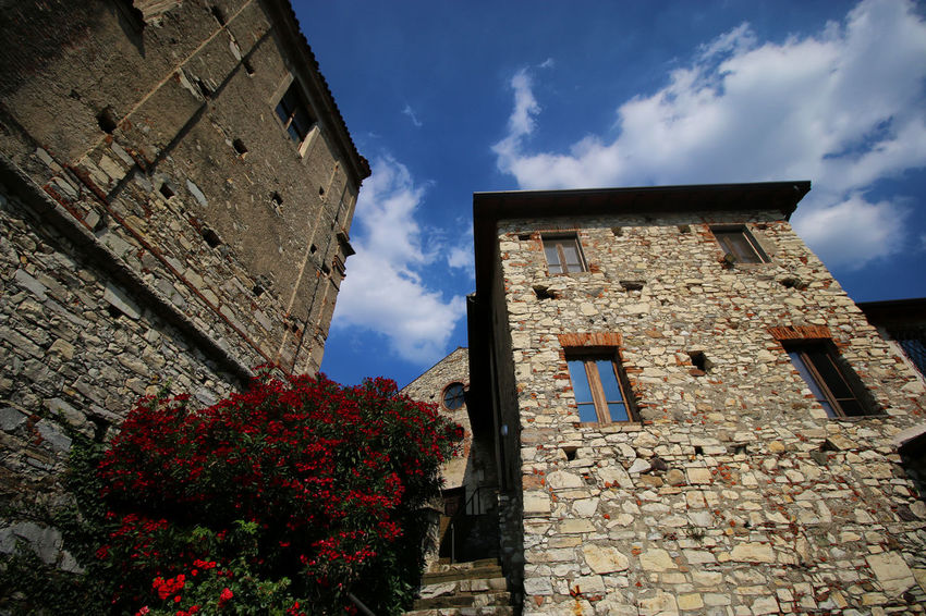 Tranquility Paesaggio No People Landscape Clouds And Sky Torbieredelsebino Landscape_photography House Houses Church Chiesa Monastery Monastero