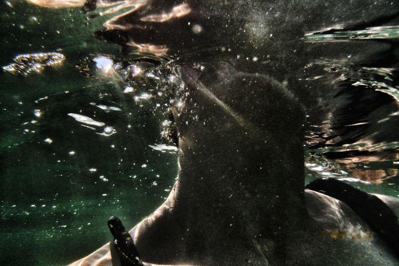 | Underwater selfie | it's me darkness and light Bibione Pineda EyeEmItaly It's Me UnderSea Underwater EyeEm Italy UnderSea Space Water Swimming Underwater Infinity Shore Be Brave