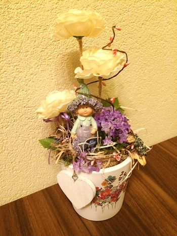 Homemade spring decoration Homemade Decoration Springtime Flower Indoors  Slovakia