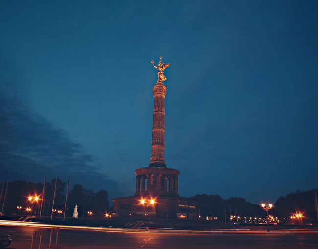 Architecture Barrel Berlin Berlin Victory Column Building Exterior Built_Structure City Column Drum Germany History Illuminated Light Trail Long Exposure Night Sculpture Siegessäule  Sky Statue Street Light Tourism Travel Travel Destinations Victory Column Victory Monument Neighborhood Map The Architect - 2017 EyeEm Awards BYOPaper! Place Of Heart Let's Go. Together. Sommergefühle EyeEm Selects Let's Go. Together. Breathing Space Your Ticket To Europe Berlin Love Discover Berlin An Eye For Travel Adventures In The City Adventures In The City #FREIHEITBERLIN The Traveler - 2018 EyeEm Awards HUAWEI Photo Award: After Dark