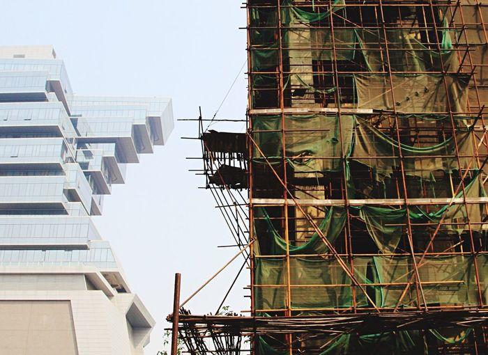 TakeoverContrast Oldandnewbuildings Built Structure City Development No People Architecture