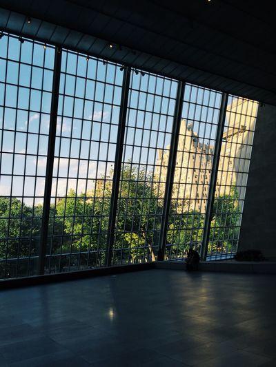 Window in city