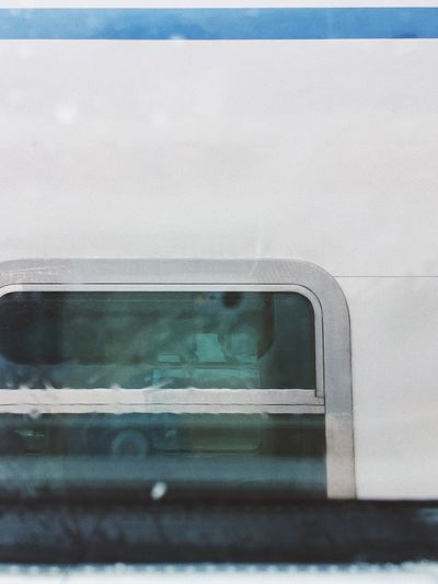 Close-up of car window