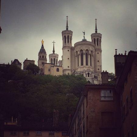 Rainy Sunday Lyon Fourvière
