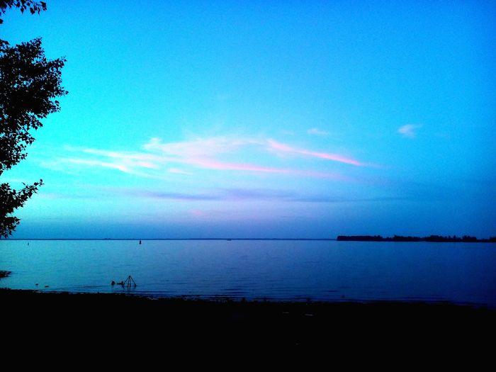 Dnipro River Ukrainian Sea Horizon Over Water Blue Beauty In Nature Sky Beach Nature Calm Non-urban Scene Peaceful View Solitude Majestic