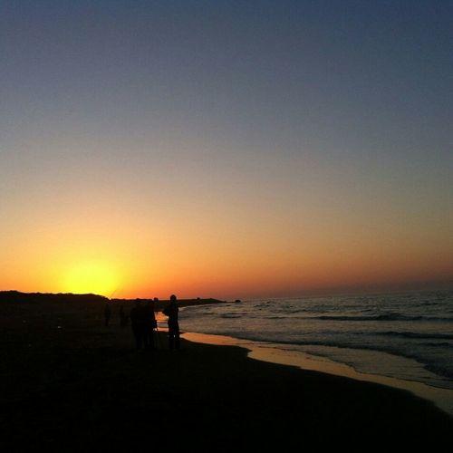 想念那日落的美