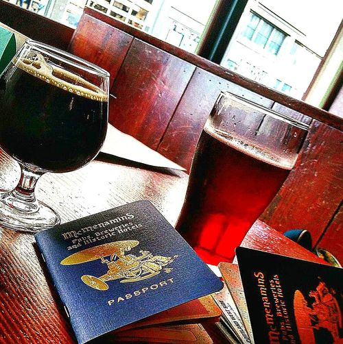 Mcmenamins MCMPassport Beer Pubs Portland Oregon Pearl District Black Widow Seasonal