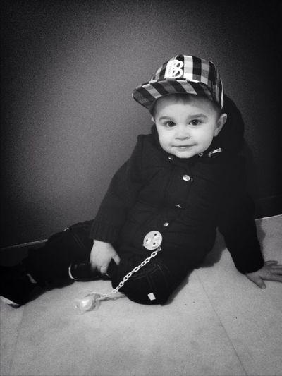 Baby Swag Black And White Thug