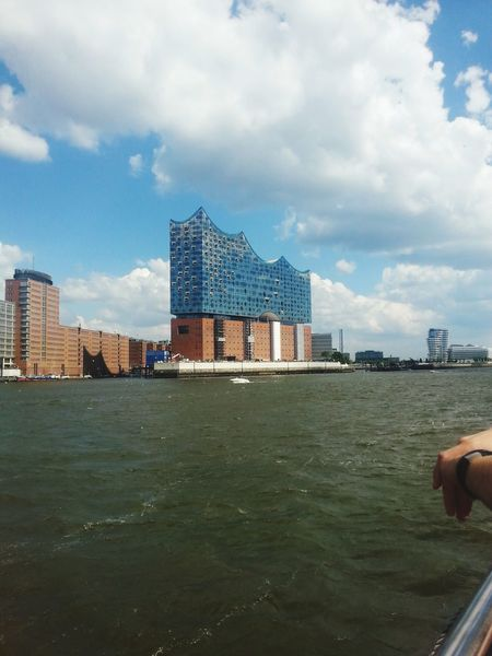 Architectonically an interesting building... Elbphilharmonie in Hamburg Landscapes And Lakeviews