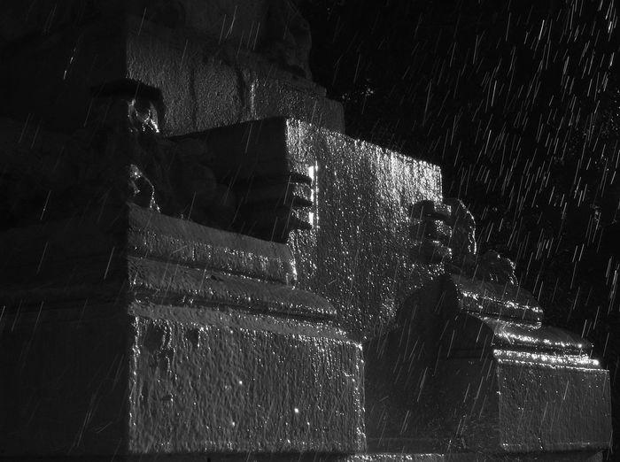 Dark Fountain Fountain Dark Water Robust Stone Stone Water Villa Borghese Rome