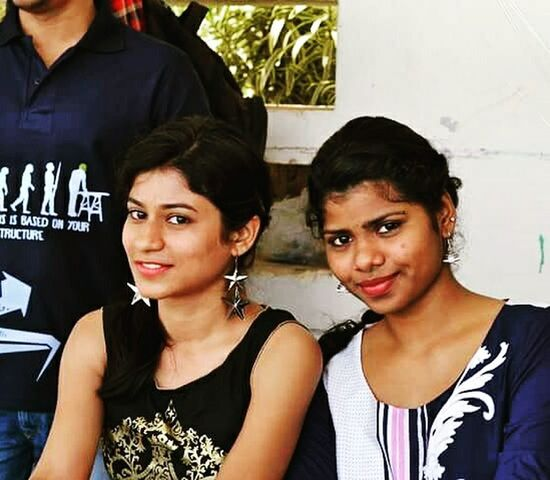 College Function Ethinicwear Enjoying Life Teens Summer Collegefestival Check This Out EyeEm Best Shots Indianstyle Earringslove Eyemakeup Smile Is The Best Make-up A Girl Can Wear Fusionculture My Favorite Photo